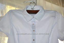 белоснежная блузка на р-р 40-42