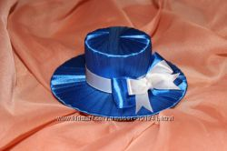 декоративная шляпка - заколка