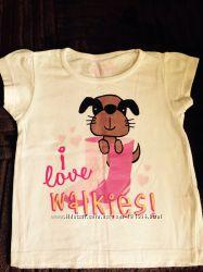 Продаю футболку на дівчинку 3-5 років, 104-110