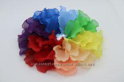 Обручи повязки броши заколки  с цветами спиральками ягодками