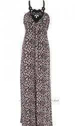 Очень стильное платье с тигровым принтом