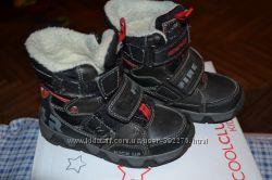 Ботинки Cool Club для мальчика зима срочно уступаю
