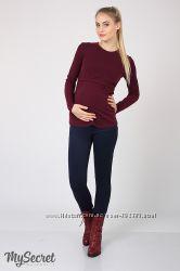 Теплые брюки для беременных с начесом