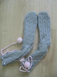 Носки-тапочки женские теплые
