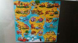 Магниты Растишка Карта мира история животных