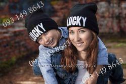 Шапки для мамы и малыша Vogue, Homies, Obey, Boy, Lucky