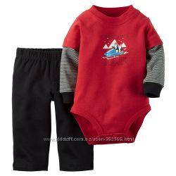 Carters комплект для малыша на рост 72-78 см 12м