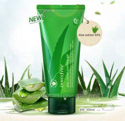 Aloe Revital Soothing Gel - крем-гель с мякотью алое  Innisfree Корея