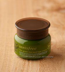 Глубокоувлажняющий крем для глаз с экстрактом зеленого чая Innisfree Корея