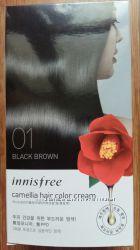 INNISFREE Camellia Hair Color Cream - крем-краска для волос на 3 применения