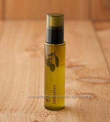 Двухфазный вода-масло увлажняющий тонер-мист для лица с оливой Innisfree