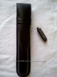 кожаный футляр чехол для ручки