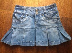 Джинсовая юбочка размер 25