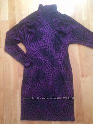 Нарядное платье с ажурной спинкой 38 европейский размер