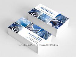 Дизайн визиток, листовок, буклетов