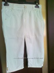 джинсовие бриджи ZARA