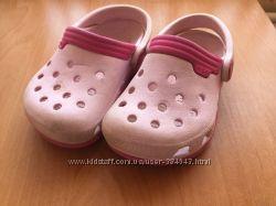 Сабо для девочки Crocs C6-7