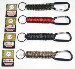 Брелки для ключей американской фирмы Rothco метал, паракорд