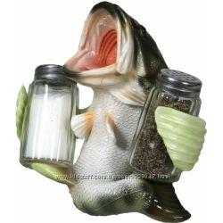 Набор для специй соль и перец River&acuteS Edge Bass Holding Shakers