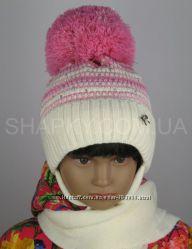 Комплект-шапка с шарфиком AGBO Польша