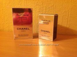 Туалетная вода 100 мл. и лосьон после бритья 75 мл. Chanel Platinum Egoiste