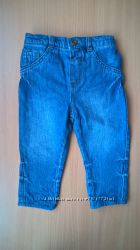 Утепленные джинсы ф. George р. 9 - 12мес рост 80см. В идеале