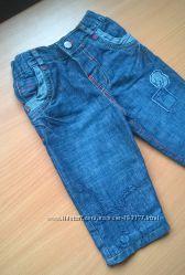 Утепленные джинсы Marks&Spenser р. 9-12 мес. В идеале