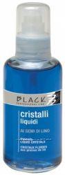 Жидкие кристаллы Black Cristalli с экстрактом семени льна  для ухода и защи