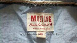 оригинал mustang кофточка рубашка на запах есть подходящие брючки