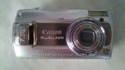 Фотоаппарат Canon PowerShot A470 карта памяти 1ГБ в подарок