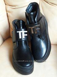 Ботинки натуральная кожа флотар