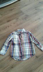 Рубашка для мальчика фирмы H&M, Okay, Crazy8
