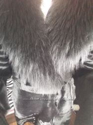 Шуба с меха пони