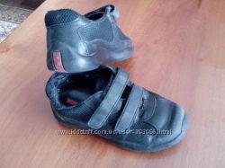 Кожаные кроссовки-ботинки Prada по стельке 17см