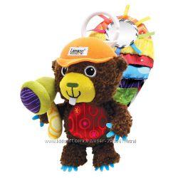 Развивающая игрушка-подвеска Бобер Билл, Lamaze