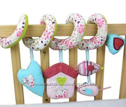 Растяжка, спираль на коляску, кровать, автокресло, Mamas & Papas