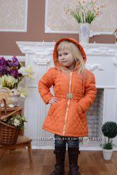 Пальто для девочки демисезонное