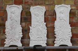 Гипсовый лепной декор, барельеф, лепнина, картины из гипса для интерьера