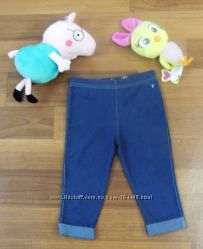 Стречевые под джинс бриджи-штаны  на 4-5лет