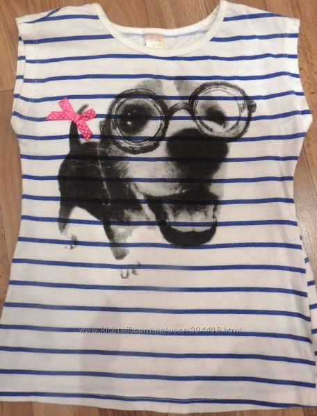 Продам симпатичную футболочку Глория Джинс на 122-128