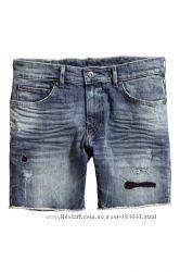 Джинсовые шорты H&M 32p