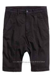 Хлопковые шорты H&M 36 р