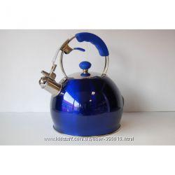 Чайник Lessner LS на 3 литра со свистком синий