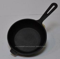 Чугунная сковорода 160х40 мм