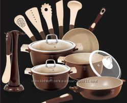 Набор посуды ВH-1116, 15 предметов немецкого производства