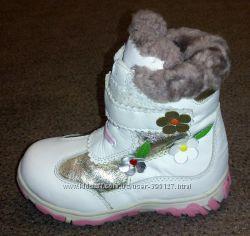 Ботиночки зимние Веселый мишка размер 26
