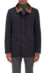 Итальянское пальто на овчине Gimos