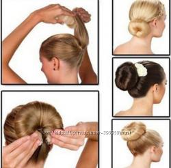Бублик валик для волос