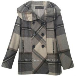Деми пальто-бушлат Zara basic. S