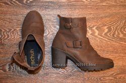 Деми ботинки schuh кожа